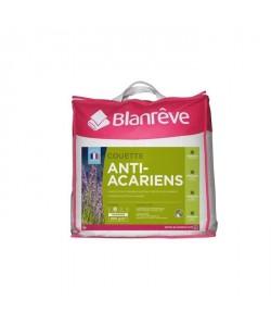 BLANREVE Couette Tempérée Microfibre PHYTOPURE AntiAcariens 220x240 cm blanc