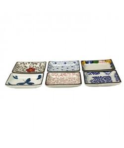 ARD\'TIME Lot de 6 coupelles rondes en céramique Chiba  8 cm