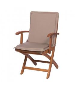 EZPELETA Coussin de chaise maxi Green  87 x 44 cm  Beige
