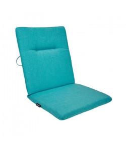EZPELETA Coussin de chaise maxi Green  87 x 44 cm  Bleu turquoise