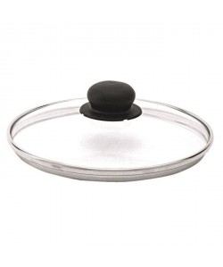 BEKA Couvercle performance verre bord inox 20 cm