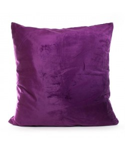 ANDORA Coussin Jessie  60x60 cm  Prune  100% polyester