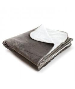 ANDORA Plaid Jessie  180x220 cm  Taupe 100% polyester
