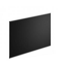 Crédence en verre de 5mm d\'épaisseur  Noir  80x45cm