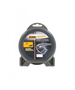JARDIN PRATIQUE Fil nylon hélicoidal OZAKI PREMIUM pour débroussailleuse  Ř 3  mm  L 15 m
