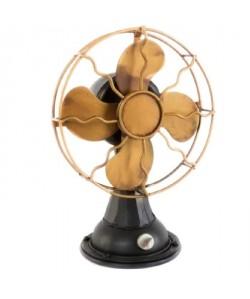 Ventilateur déco wind  métal 19,5x13x28 cm