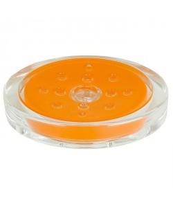 SYDNEY Porte savon  3x13x10cm  Orange
