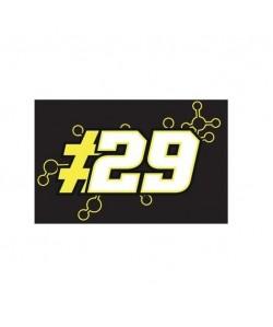 Drapeau Andrea Lannone  Noir  MotoGP