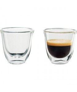 DELONGHI Lot de 2 tasses Espresso  6 cl
