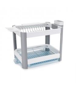 MINKY Egouttoir a vaisselle Extending Dish rack 2 niveaux