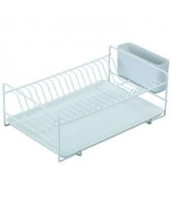 SAUVIC Égouttoir a vaisselle plastifié  Plat  Blanc