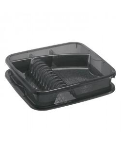 SUNDIS Egouttoir a vaisselle Géometric 7032004 39,5x39,5x8,5 cm anthracite