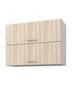 OBI Meuble haut de cuisine L 80 cm  Décor chene clair