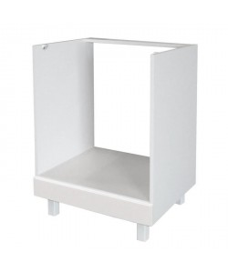 POP Caisson four bas 60 cm  Blanc Brillance