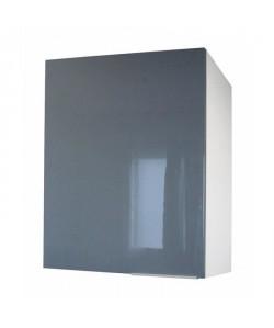 POP Meuble haut de cuisine L 60 cm  Gris haute brillance