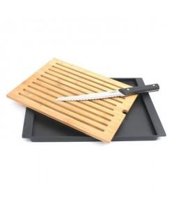 Planche a pain en bambou Modernity  couteau a pain