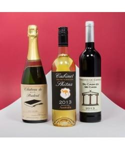 THUMBSUP Etiquettes adhésives pour bouteille de vin (x 10)