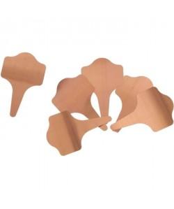 NATURE Etiquettes a planter en cuivre