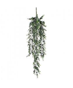 MICA DECORATIONS Lot de 2 Plantes artificielles Eucalyptus a suspendre  Vert