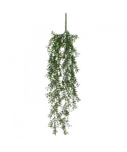 MICA DECORATIONS Lot de 2 Plantes artificielles Buis a suspendre  Vert