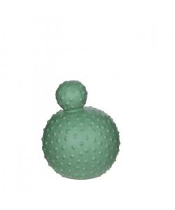 MICA DECORATIONS Cactus Déco Vert Menthe  H20,5 x d16,5 cm