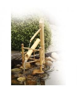 Fontaine de Jardin Bamboo basculante