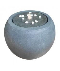 Fontaine boule Ř43xH32,5cm  Gris