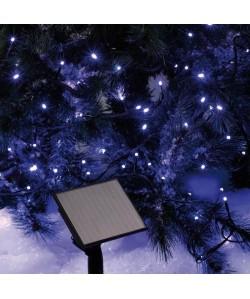 Guirlande Solaire lumineuse intérieure bleue 5 m