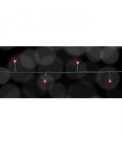 FINLANDEK Guirlande lumineuse de Noël 100 LED  Rouge