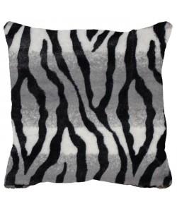 Housse de coussin  zip Congo zebre 40 cm