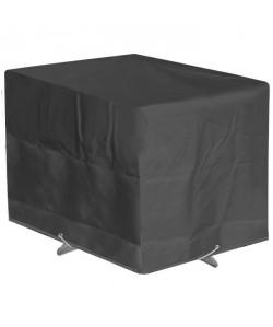 GREEN CLUB Housse de protection pour table de jardin 110x110x65cm  Anthracite