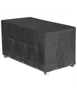 GREEN CLUB Housse de protection pour table de jardin 180x112x65cm  Gris anthracite
