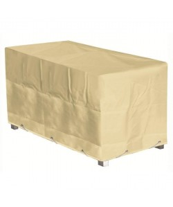 GREEN CLUB Housse de protection pour table  180x112x65 cm  Beige