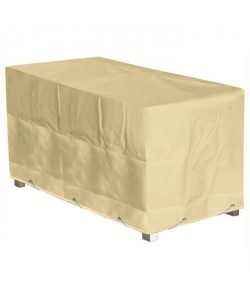 GREEN CLUB Housse de protection pour table  226x112x65 cm  Beige