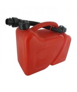 JARDIN PRATIC Jerrican plastique double usage 5  2 litres avec bec verseur