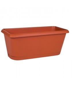 EDA PLASTIQUES Jardiniere Chorus  39,8 x 18,8 x 16,1 cm  Orange potiron
