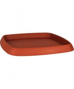 EDA Soucoupe carrée Chorus  36,2 x 36,2 x 3 cm  Orange potiron