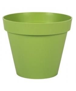 EDA PLASTIQUES Pot Toscane  Ř 25 x 20,6 cm  Vert matcha