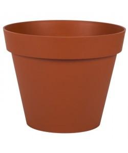 EDA PLASTIQUES Pot Toscane  Ř 30 x 26 cm  Orange potiron