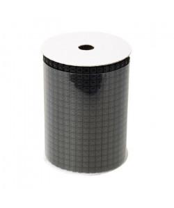 Rouleau de table maillé en PVC Noir 200x10,5 cm