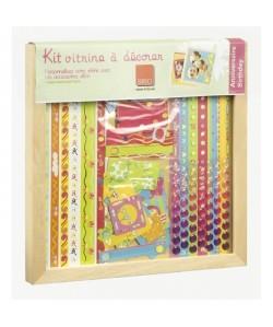 IMAGINE Kit vitrine a décorer anniversaire 30 x 30 cm