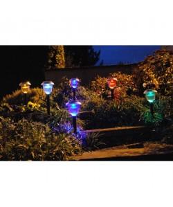 Décoration a énergie solaire  lot de 6 lanternes