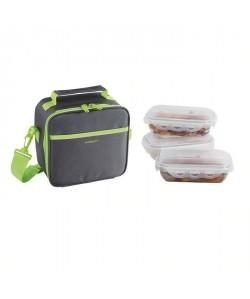 BE NOMAD SEP122V Set Sacoche Lunch box  Vert