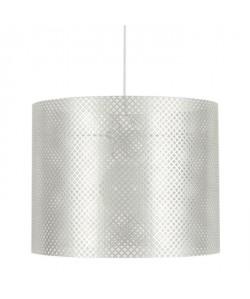 LACY Lustre  suspension en Blanc  Hauteur 23 cm. Hauteur plafond 85cm