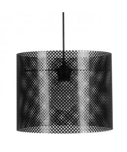 LACY Lustre  suspension en Noir  Hauteur 23 cm. Hauteur plafond 85cm