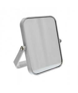 FRANDIS Miroir double face rectangle 18X13 cm Gris