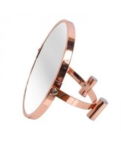 FRANDIS Miroir double face a poser effet cuivre