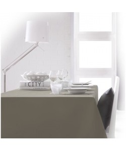 TODAY Nappe rectangulaire 150x250 cm  Marron mastic