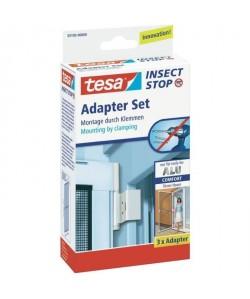 TESA Cadre moustiquaire pour fenetre  Avec répulsif insectes