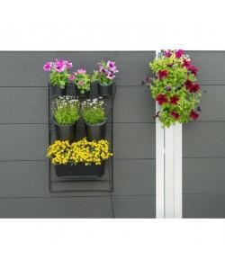 NATURE Kit mur végétal en acier 48xH84cm  Noir